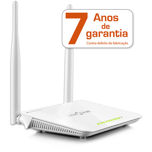 Roteador Wireless 300MBPS 2 Antenas Wifi Link One