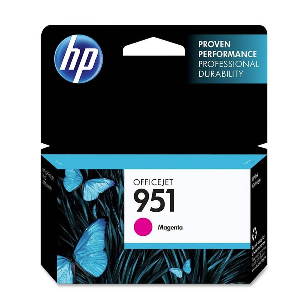 Cartucho HP 951 CN051AL Magenta Original para Pro8100 e Pro8600