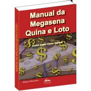 Brinde na compra de 2 livros - Manual da Mega-sena Quina e Loto
