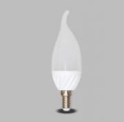 L�mpada LED Vela 5W Biv Cristal