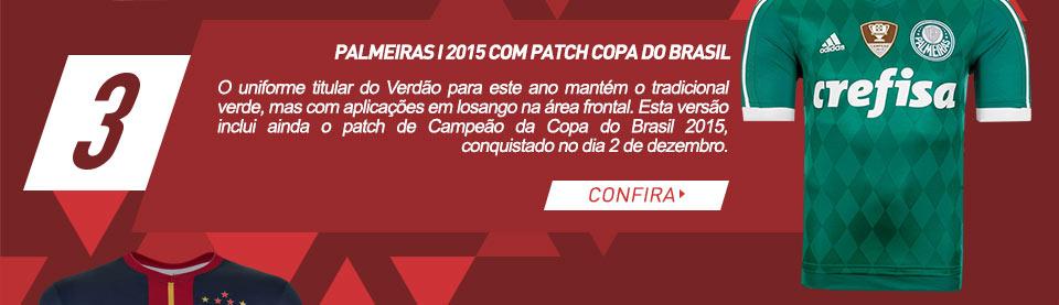 Palmeiras I 2015 com patch Copa do Brasil
