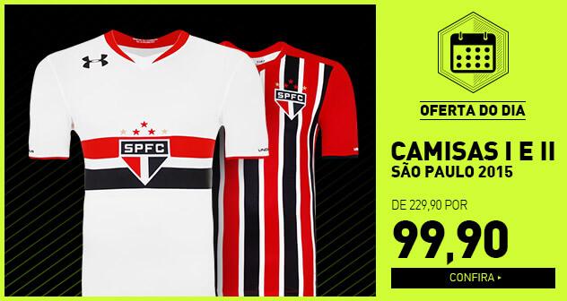 São Paulo Goleiro III 2015 com patch Rogério Ceni