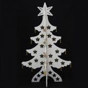 Arvore de Natal 1,17 Mts x � 0,75 mts Modelo Vitrine Elegance