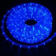 Mangueira Luminosa Azul Incandescente - 10 Metros 127V