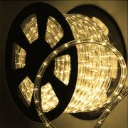 Mangueira Luminosa Branca Incandescente - 100 Metros 127V