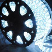 Mangueira Luminosa Branca LED - 100 Metros 127V - Corda de Natal