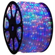 Mangueira Luminosa Colorida LED - 100 Metros 127V - Corda de Natal