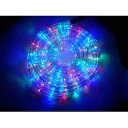 Mangueira Luminosa Colorida LED - 10 Metros 220V - Corda de Natal