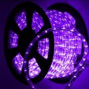 Mangueira Luminosa Roxa / Lilas LED - 100 Metros 220V - Corda de Natal