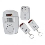 Alarme Residencial Kit com 1 Sensor de Presen�a e 2 Controles Remotos YL105