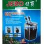 Jebo Filtro Canister 2.500L/H 865 (copo preto) - 220v - RsDiscus