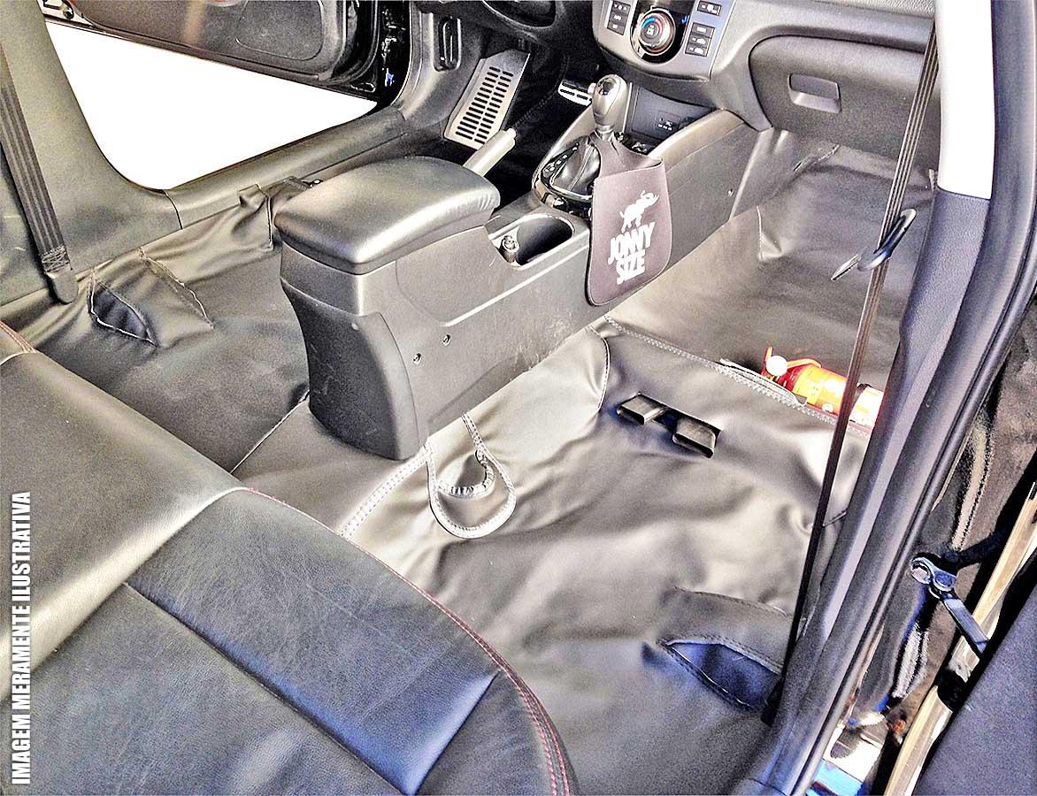 Capa de assoalho e porta malas p / Novo Ecosport 2013 em diante