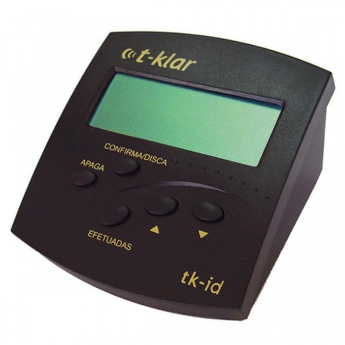 Idenficador de Chamadas Bina T - Klar Tk - Id Preto