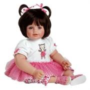 Boneca Adora Baby Doll 20� Purr-fectly Posh (Dark Brown Hair/Blue Eyes)-