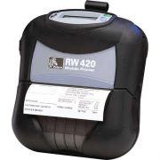 Impressora Port�til de Etiquetas RW 420 - Zebra