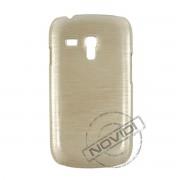 Capa R�gida com Efeito Escovado para Samsung Galaxy S III Mini I8190 - Cor Marfim