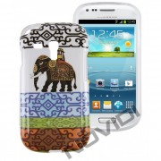 Case Personalizada Elefantes para Samsung Galaxy S3 Mini I8190 - Modelo 3