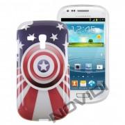 Case Personalizada C. Am�rica para Samsung Galaxy S3 Mini I8190