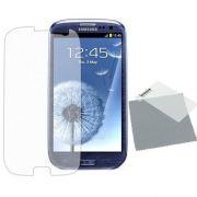Kit com 2 Pel�culas protetora fosca anti-reflexo para Samsung Galaxy SIII i9300
