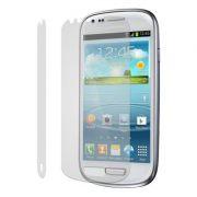 Kit com 2 Pel�culas protetora Pro fosca anti-reflexo / anti-marcas de dedos para Samsung Galaxy S III Mini I8190