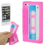 Capa Personalizada Fita Cassete para Apple iPhone 5 - Rosa