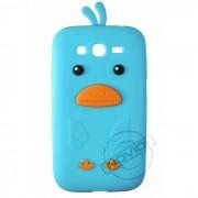 Capa Desenho Animado Pintinho para Samsung Galaxy Grand Duos I9082 - Cor Azul