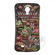 Case Personalizada Word of Caramalaw para Samsung Galaxy S4