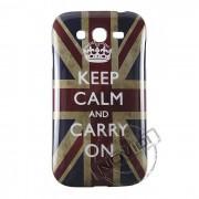 Capa Personalizada Keep Calm And Carry On para Samsung Galaxy Grand Duos I9082