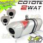 Ponteira Coyote TRS 2 Way Alum�nio CB 300 R - Polido - Honda ( Apenas a PONTEIRA )