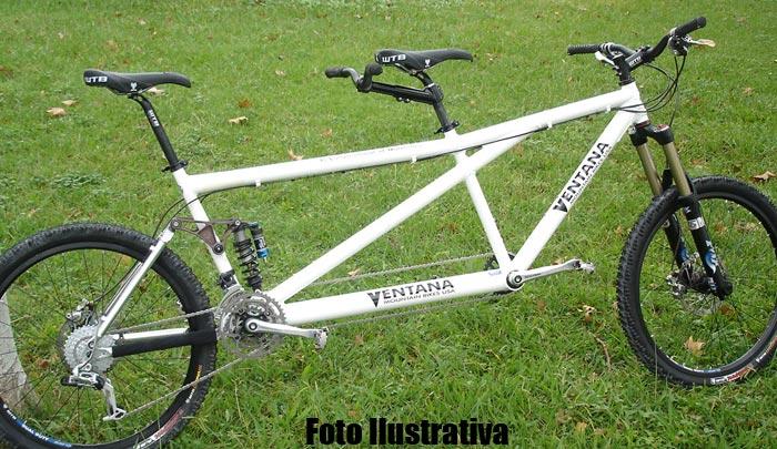 Bicicleta Tandem Ventana El Conquistador de Montanhas