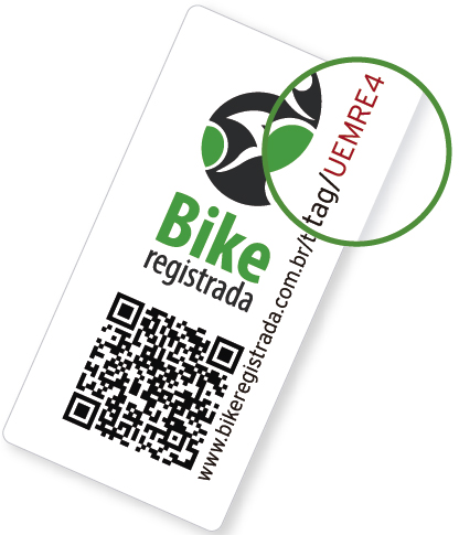 Selo Bike Registrada
