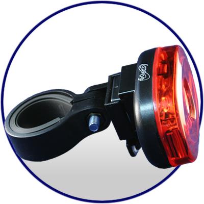 Lanterna Traseira Goeasy 3 Leds GE-353T