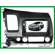 Central Multimidia EVOLVE MULTILASER Honda New Civic 07/11