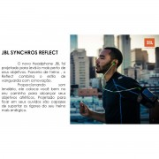 Fone de Ouvido JBL Synchros Reflect para iPhone/Android