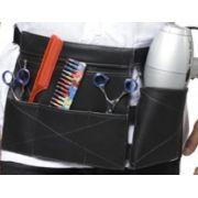 Porta Secador e Acess�rios Modelo T�kio De Couro Para Cabeleireiros - Santa Clara