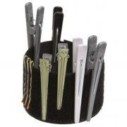 Pulseira De Velcro Para Cabeleireiros Tamanho �nico - 01 Unidade