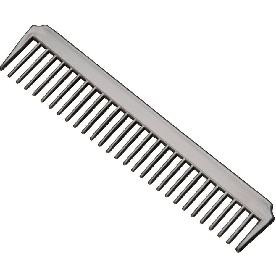 Pente Plástico Dentes Largos Para Corte e Penteados - 01 Ou 12 Unidades