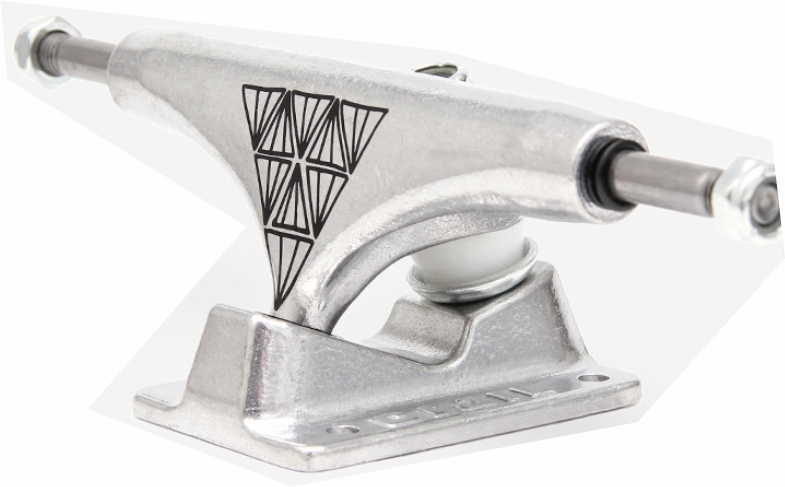Truck Crail Silver - MID - 129 mm  - Sinergia