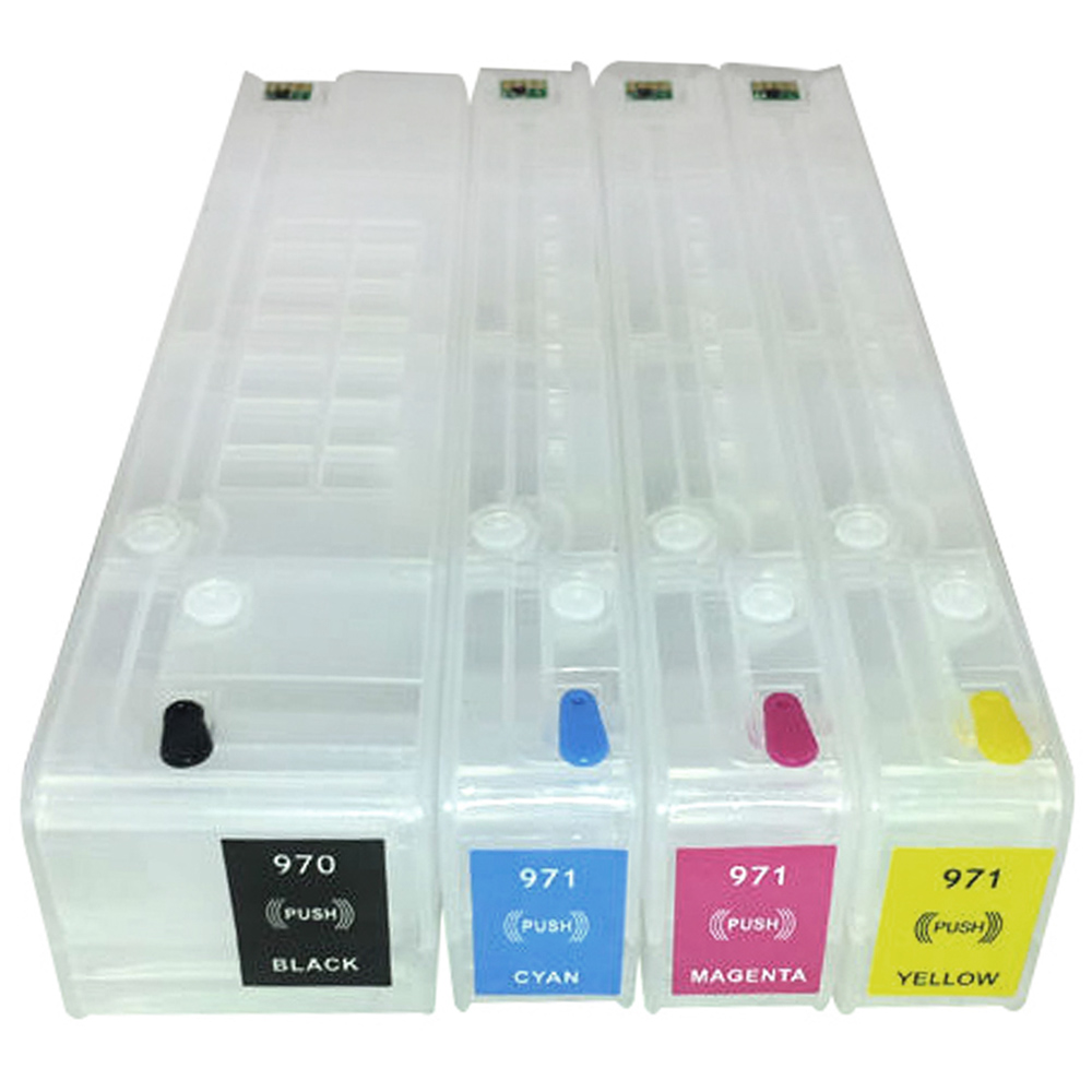 Cartuchos Recarreg�veis Pro X451, X576, X551dw, HP 970 e HP 971