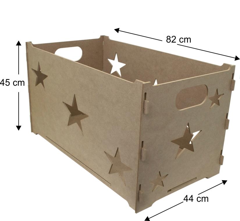 Cesta de Presente Proven�al Caixa em MDF 6mm
