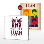 CD Luan Santana Ac�stico + P�ster GR�TIS - Luan Santana Shop