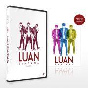 DVD Luan Santana Ac�stico + P�ster GR�TIS - Luan Santana Shop