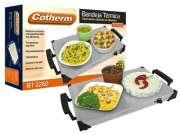 Bandeja t�rmica com regulagem de temperatura Cotherm - Alimentos aquecidos, quente sempre