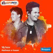 Matheus & Kauan - 16/11/16 - Pato Branco - PR