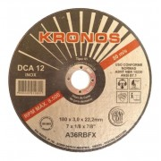 Disco Corte DCA12- 4.1/2 X 1,2MM - KRONOS