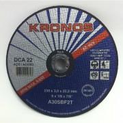 Disco Corte DCA22- 9 X 3,2MM - KRONOS