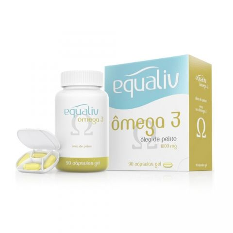 �mega 3 - 90 C�psulas - Equaliv