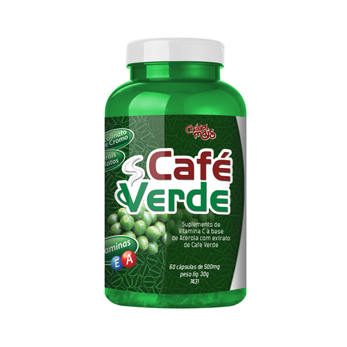 Caf� Verde - 60 C�psulas - Ch� Mais