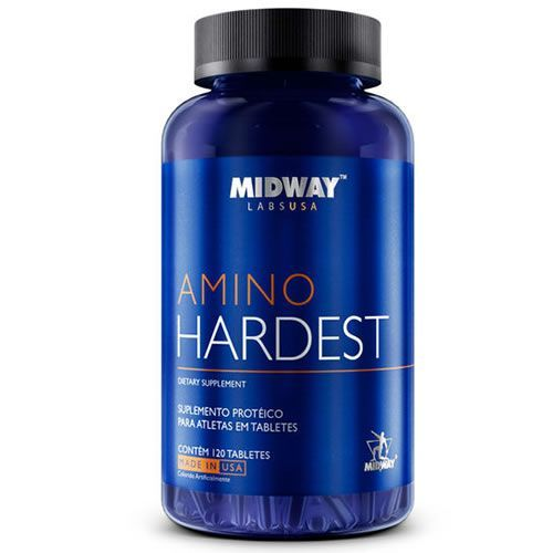 Amino Hardest - 120 Tabletes - MidWay