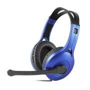 Edifier K800 Fone com Microfone, Headset Gamer, Azul